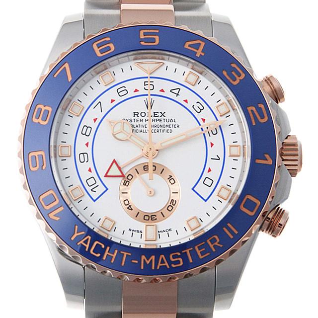 【48回払いまで無金利】ロレックス ヨットマスターII 116681 最新型 メンズ(006XROAU0740)【中古】【腕時計】【送料無料】