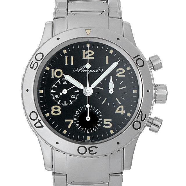 【48回払いまで無金利】ブレゲ アエロナバル 3800ST/92/SW9 メンズ(007UBCAU0033)【中古】【腕時計】【送料無料】