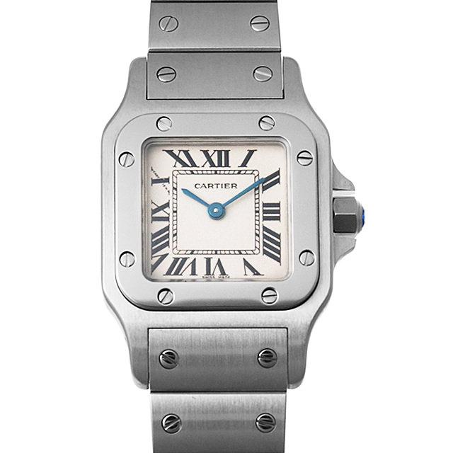 【48回払いまで無金利】カルティエ サントスガルベ SM W20056D6 レディース(007UCAAU0124)【中古】【腕時計】【送料無料】