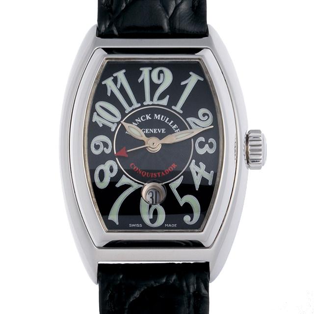 【48回払いまで無金利】フランクミュラー コンキスタドール 8001LSC AC レディース(007UFRAU0132)【中古】【腕時計】【送料無料】