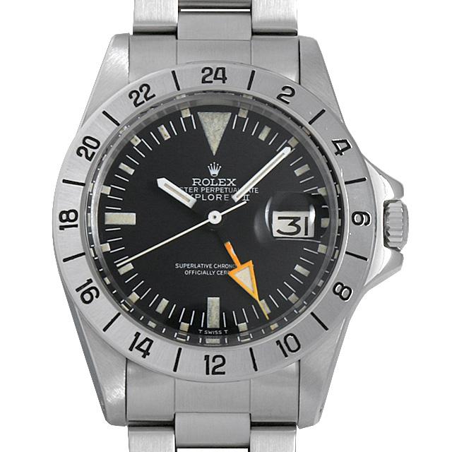 【48回払いまで無金利】SALE ロレックス エクスプローラーII Cal.1570 32番 1655 ストレート針 メンズ(007UROAA0073)【アンティーク】【腕時計】【送料無料】