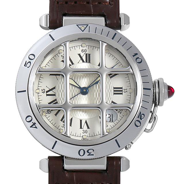 【48回払いまで無金利】カルティエ パシャ 150周年記念モデル 限定1847本 W3102255 メンズ(008WCAAU0118)【中古】【腕時計】【送料無料】
