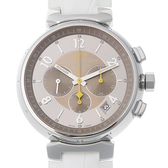 【48回払いまで無金利】ルイヴィトン タンブールクロノグラフ エルプリメロ Q1142 メンズ(008WLVAU0007)【中古】【腕時計】【送料無料】
