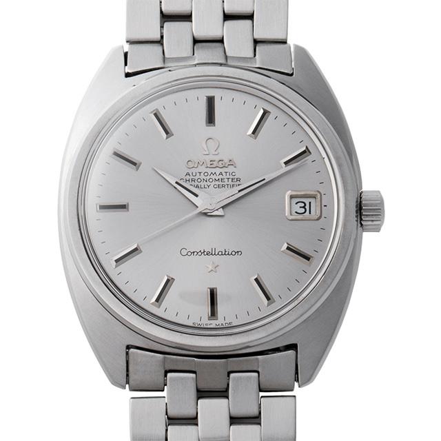 【48回払いまで無金利】オメガ コンステレーション Cal.564 168.017 メンズ(008WOMAA0021)【アンティーク】【腕時計】【送料無料】