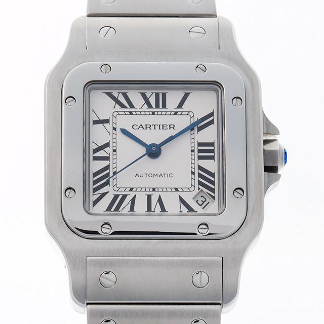 【48回払いまで無金利】カルティエ サントスガルベ XL W20098D6 メンズ(0GCWCAAU0001)【中古】【腕時計】【送料無料】