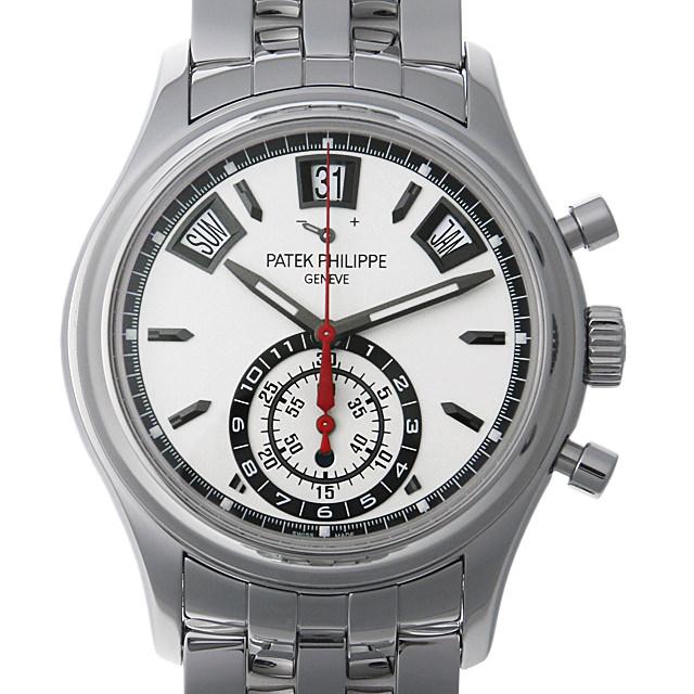 【48回払いまで無金利】パテックフィリップ アニュアルカレンダー クロノグラフ 5960/1A-001 メンズ(0HCJPPAU0001)【中古】【腕時計】【送料無料】