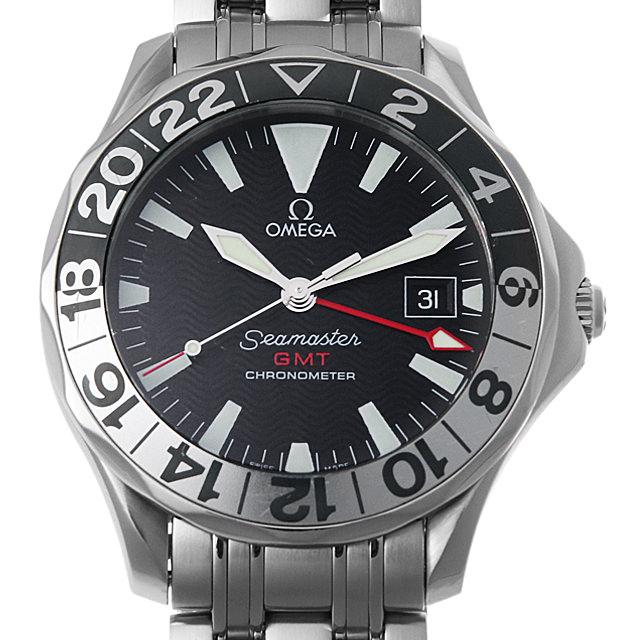 【48回払いまで無金利】オメガ シーマスター300M GMT 50周年記念モデル 2534.50 メンズ(0HGMOMAU0001)【中古】【腕時計】【送料無料】