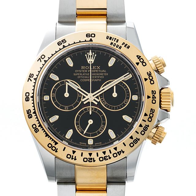 【48回払いまで無金利】SALE ロレックス デイトナ ランダムシリアル 116503 ブラック メンズ(0HH8ROAU0001)【中古】【腕時計】【送料無料】