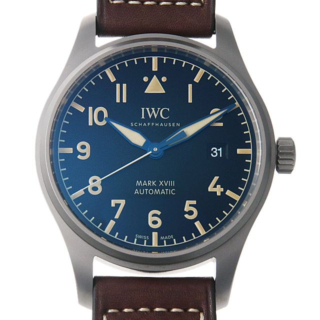 【48回払いまで無金利】IWC パイロットウォッチ マーク18 ヘリテージ IW327006 メンズ(006MIWAN0033)【新品】【腕時計】【送料無料】