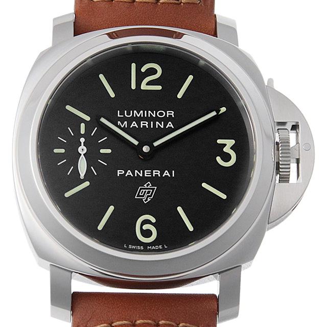 【48回払いまで無金利】パネライ ルミノールマリーナ ロゴ アッチャイオ PAM01005 メンズ(002NOPAN0039)【新品】【腕時計】【送料無料】