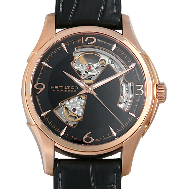 【48回払いまで無金利】ハミルトン ジャズマスター オープンハート H32575735 メンズ(006THMAN0102)【新品】【腕時計】【送料無料】