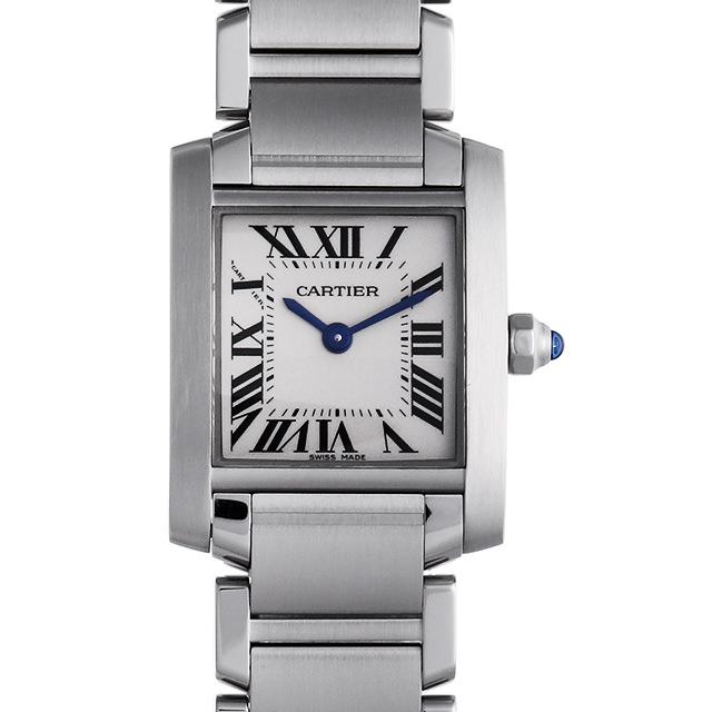 【48回払いまで無金利】カルティエ タンクフランセーズ SM W51008Q3 レディース(001HCAAU0100)【中古】【腕時計】【送料無料】