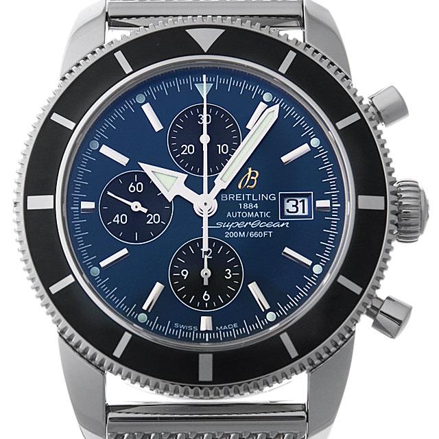 【48回払いまで無金利】ブライトリング スーパーオーシャン ヘリテージ クロノグラフ A272C170CA(A13320) メンズ(0063BRAU0017)【中古】【腕時計】【送料無料】
