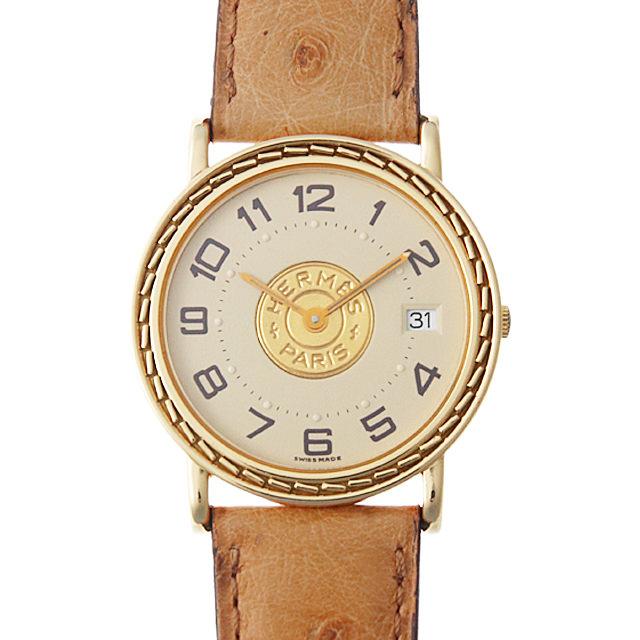 【48回払いまで無金利】エルメス セリエ レディース(0063HEAU0004)【中古】【腕時計】【送料無料】