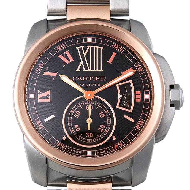 【48回払いまで無金利】カルティエ カリブル ドゥ カルティエ W7100050 メンズ(008WCAAU0116)【中古】【腕時計】【送料無料】
