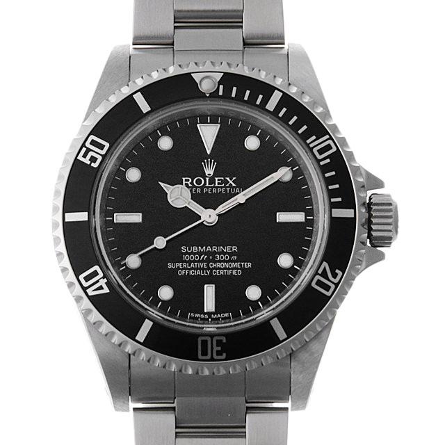 【48回払いまで無金利】ロレックス サブマリーナ ノンデイト G番 14060M メンズ(008WROAU0222)【中古】【腕時計】【送料無料】