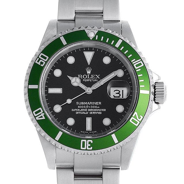 【48回払いまで無金利】ロレックス サブマリーナ デイト F番 16610LV メンズ(008WROAU0224)【中古】【腕時計】【送料無料】