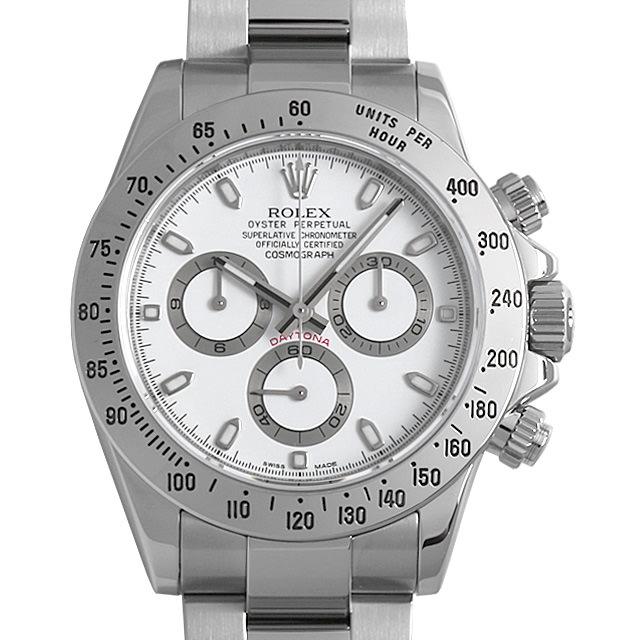 【48回払いまで無金利】SALE ロレックス コスモグラフ デイトナ ランダムシリアル 116520 ホワイト メンズ(008WROAU0229)【中古】【腕時計】【送料無料】