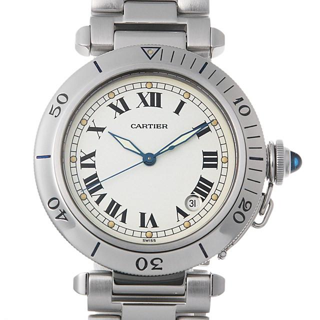 【48回払いまで無金利】カルティエ パシャ 38mm W31005H3 メンズ(009MCAAU0024)【中古】【腕時計】【送料無料】