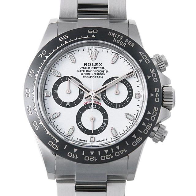 【48回払いまで無金利】ロレックス コスモグラフ デイトナ 116500LN ホワイト メンズ(03GFROAU0008)【中古】【腕時計】【送料無料】