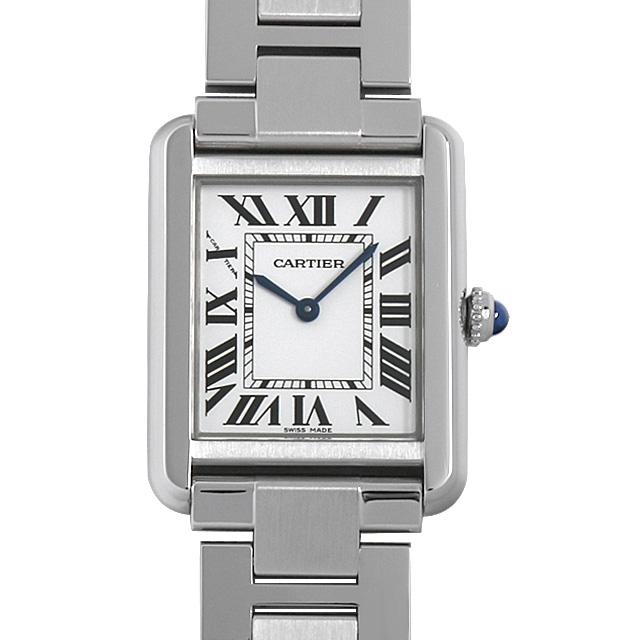 【48回払いまで無金利】カルティエ タンクソロ SM W5200013 レディース(0A89CAAU0021)【中古】【腕時計】【送料無料】