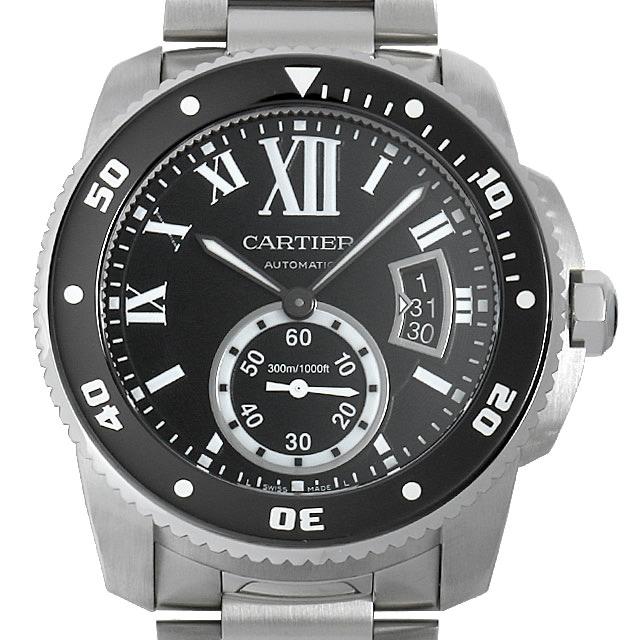 【48回払いまで無金利】カルティエ カリブル ドゥ カルティエ ダイバー W7100057 メンズ(0A89CAAU0022)【中古】【腕時計】【送料無料】