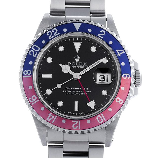 【48回払いまで無金利】ロレックス GMTマスター 赤青ベゼル U番 16700 メンズ(0ES2ROAU0002)【中古】【腕時計】【送料無料】