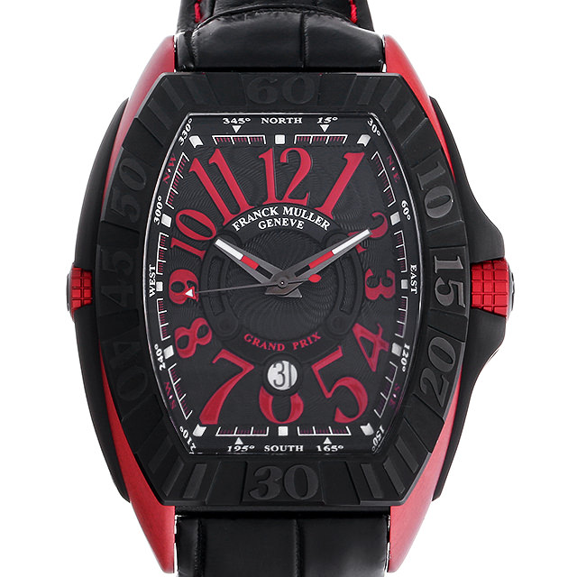 【48回払いまで無金利】SALE フランクミュラー コンキスタドール グランプリ エルガ 9900SC GP ERG メンズ(0GZ3FRAU0001)【中古】【腕時計】【送料無料】