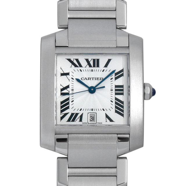 【48回払いまで無金利】カルティエ タンクフランセーズ LM W51002Q3 メンズ(0GZXCAAU0001)【中古】【腕時計】【送料無料】