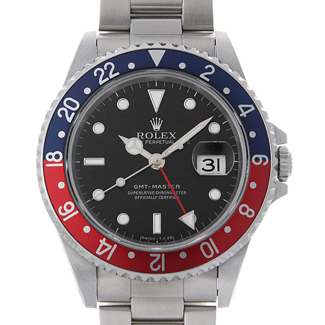 【48回払いまで無金利】ロレックス GMTマスター 赤青ベゼル U番 16700 メンズ(0HAWROAU0001)【中古】【腕時計】【送料無料】