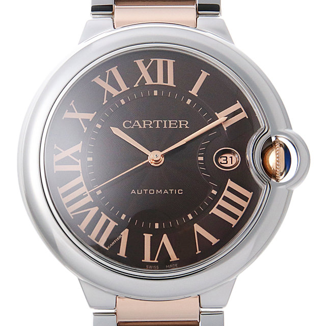 【48回払いまで無金利】カルティエ バロンブルー LM W6920032 メンズ(0HH3CAAU0001)【中古】【腕時計】【送料無料】