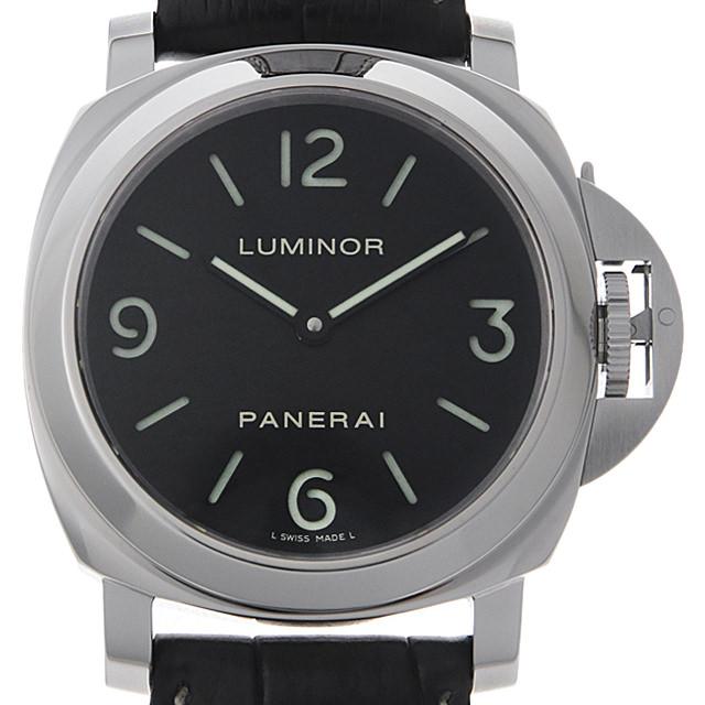 【48回払いまで無金利】パネライ ルミノールベース N番 PAM00112 メンズ(0HLWOPAU0001)【中古】【腕時計】【送料無料】