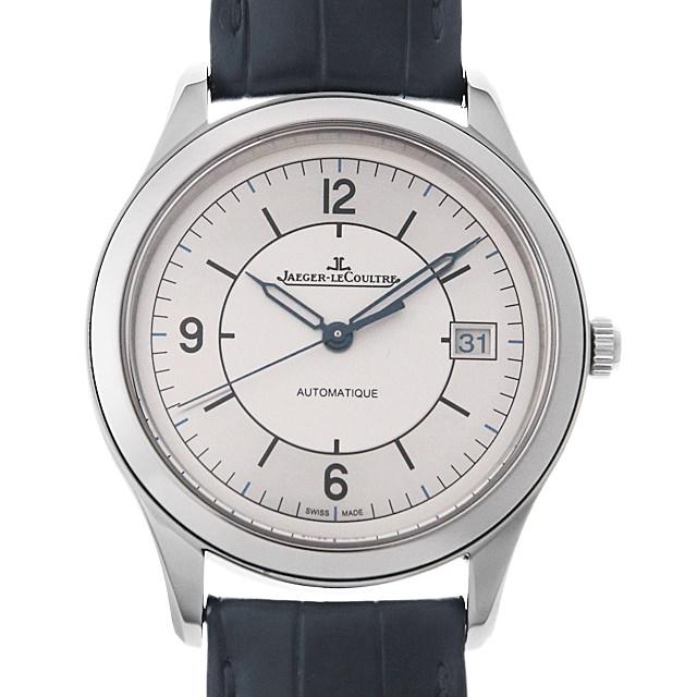【48回払いまで無金利】ジャガールクルト マスターコントロール デイト Q1548530 メンズ(0HYHJLAU0001)【中古】【腕時計】【送料無料】