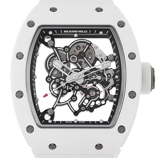 リシャールミル バッバワトソン RM055 メンズ(0I11RMAU0001)【中古】【腕時計】【送料無料】