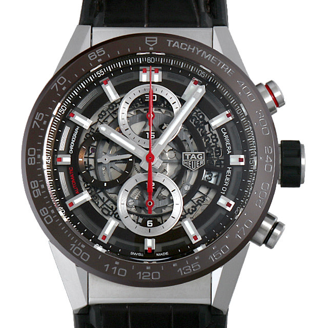 【48回払いまで無金利】タグホイヤー カレラ キャリバー ホイヤー01 CAR201U.FC6405 メンズ(0FHMTHAN0032)【新品】【腕時計】【送料無料】