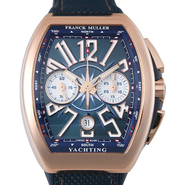 【48回払いまで無金利】フランクミュラー ヴァンガード ヨッティング クロノグラフ V45CCDT YACHTING 5NBL メンズ(006TFRAN0004)【新品】【腕時計】【送料無料】