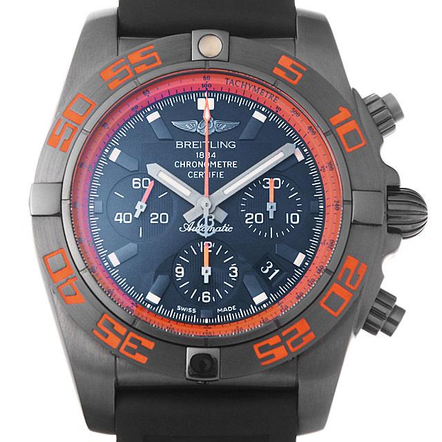 【48回払いまで無金利】ブライトリング クロノマット44 レイブン M011B07VRB(MB0111) メンズ(008WBRAS0002)【中古】【未使用】【腕時計】【送料無料】