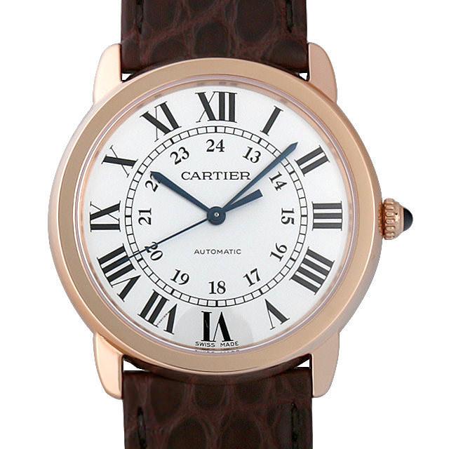 【48回払いまで無金利】カルティエ ロンド ソロ ドゥ カルティエ W2RN0008 メンズ(0DWICAAS0001)【中古】【未使用】【腕時計】【送料無料】