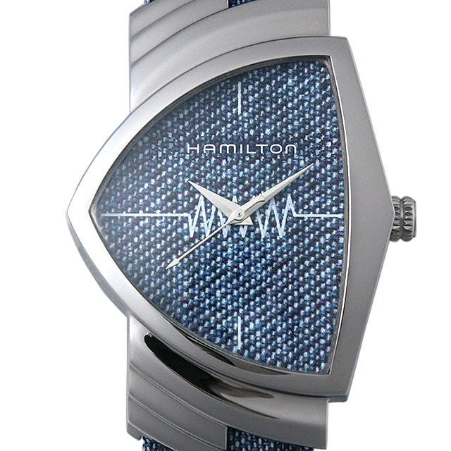【48回払いまで無金利】ハミルトン ベンチュラ デニム H24411941 メンズ(006THMAN0191)【新品】【腕時計】【送料無料】