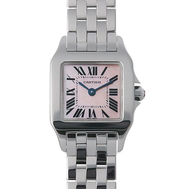 【48回払いまで無金利】カルティエ サントス ドゥ モワゼル W25075Z5 レディース(001HCAAU0108)【中古】【腕時計】【送料無料】