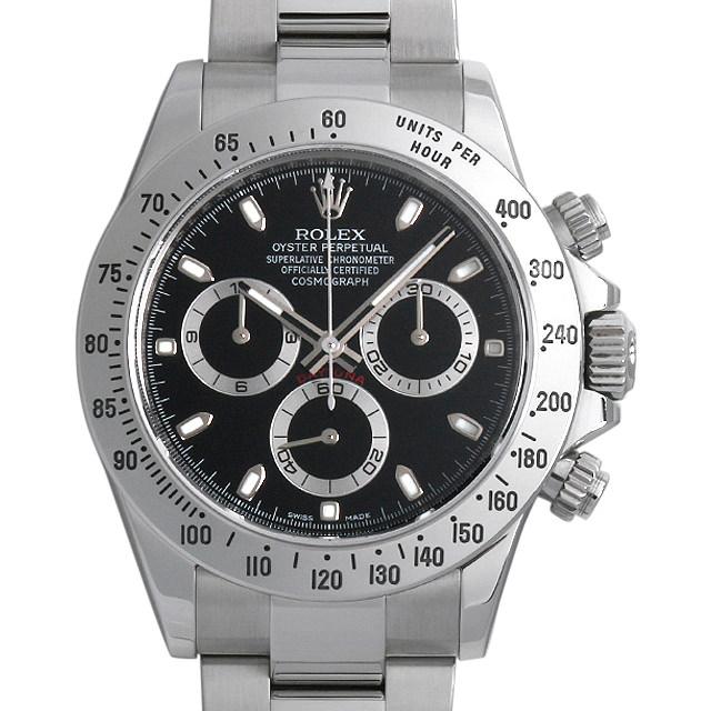 【48回払いまで無金利】ロレックス コスモグラフ デイトナ ランダムシリアル 116520 ブラック メンズ(001HROAU0203)【中古】【腕時計】【送料無料】