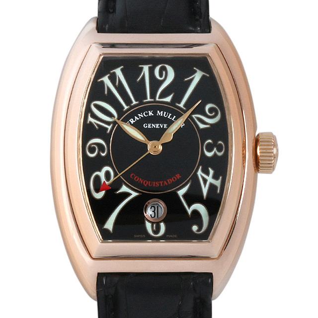 【48回払いまで無金利】フランクミュラー コンキスタドール 8001SC 5N メンズ(006TFRAU0009)【中古】【腕時計】【送料無料】