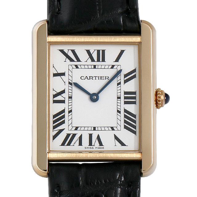 【48回払いまで無金利】カルティエ タンクソロ LM W5200004 メンズ(006XCAAU0157)【中古】【腕時計】【送料無料】