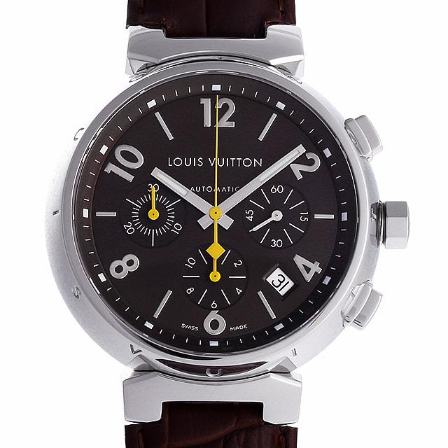 ルイヴィトン タンブール クロノグラフ Q11210 メンズ(006XLVAU0012)【中古】【腕時計】【送料無料】