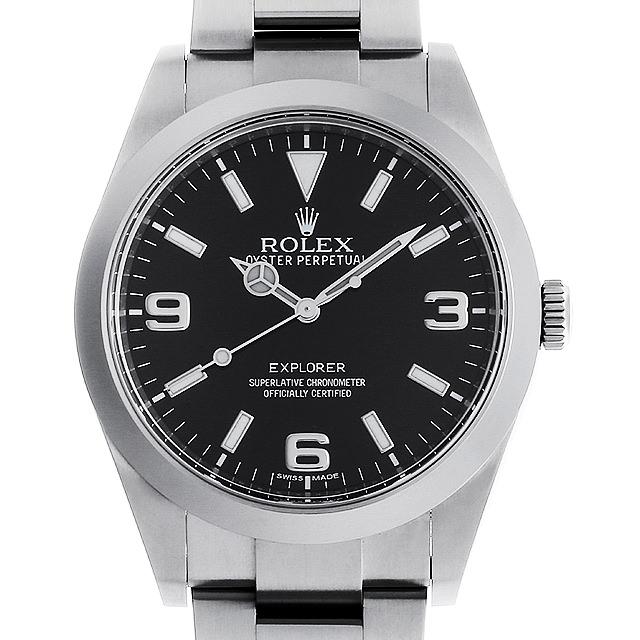 【48回払いまで無金利】ロレックス エクスプローラー ランダムシリアル 214270 メンズ(006XROAU0767)【中古】【腕時計】【送料無料】