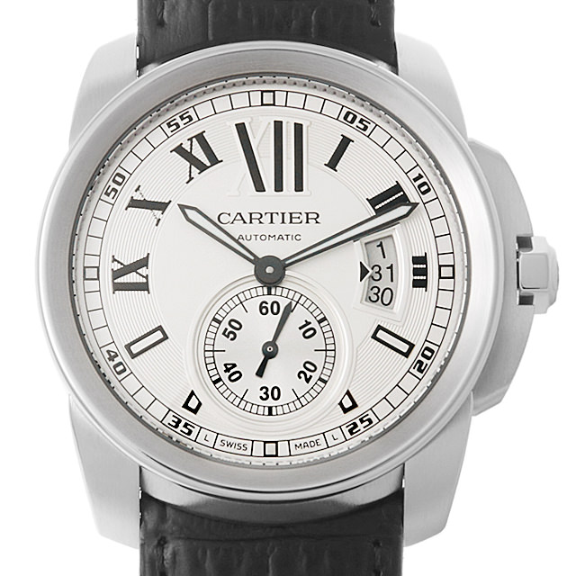 【48回払いまで無金利】カルティエ カリブル ドゥ カルティエ W7100037 メンズ(007UCAAU0125)【中古】【腕時計】【送料無料】