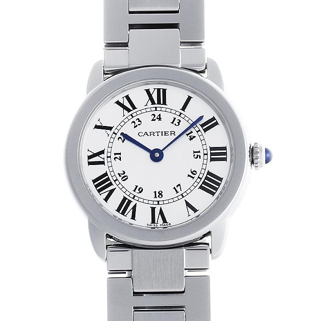 【48回払いまで無金利】カルティエ ロンドソロ ドゥ カルティエ SM W6701004 レディース(007UCAAU0133)【中古】【腕時計】【送料無料】