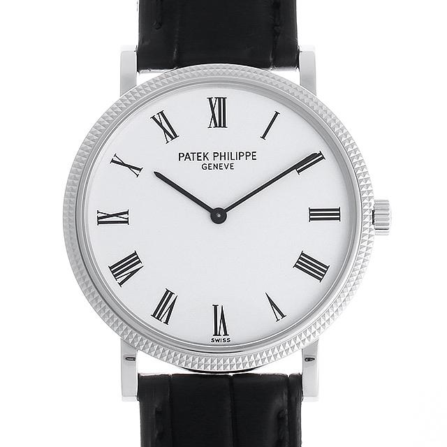 【48回払いまで無金利】パテックフィリップ カラトラバ 5120G-001 メンズ(007UPPAU0104)【中古】【腕時計】【送料無料】