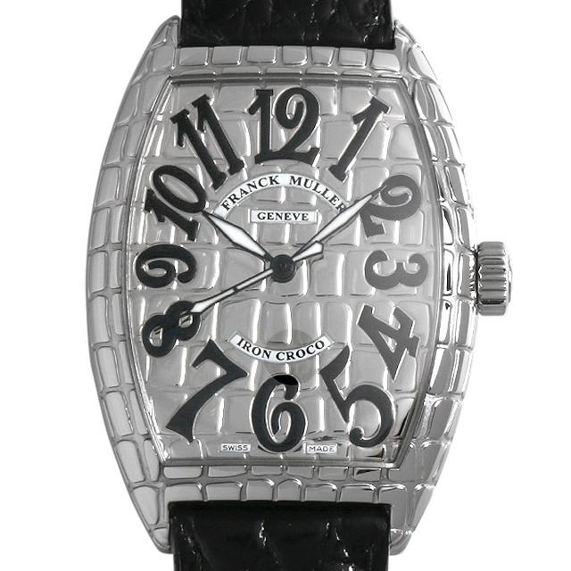 【48回払いまで無金利】フランクミュラー トノーカーベックス アイアンクロコ 7880SC IRON CRO メンズ(008KFRAU0036)【中古】【腕時計】【送料無料】