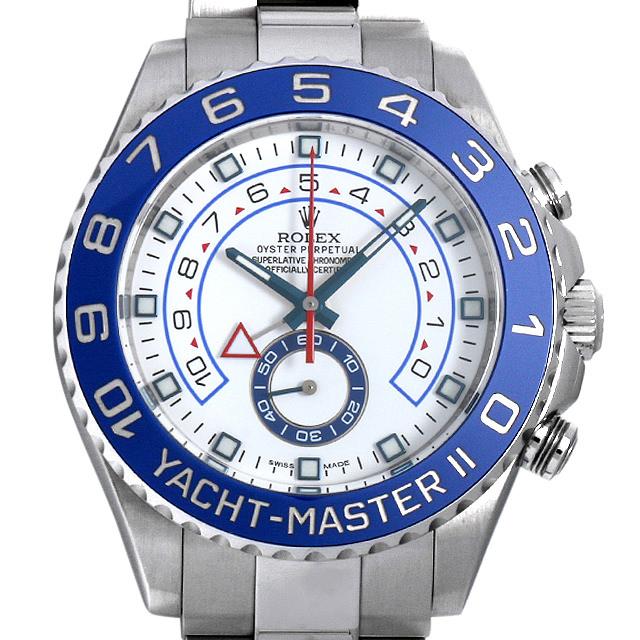 【48回払いまで無金利】ロレックス ヨットマスターII ランダムシリアル 116680 メンズ(008TROAU0003)【中古】【腕時計】【送料無料】